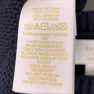 kate spade Shirts & Tops - Kate Spade New York Girl's Cupcake Knit Sweater